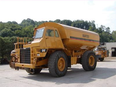 pioneer equipment company mining water trucks